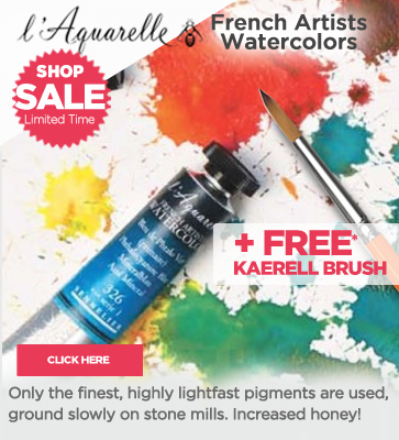 Sennelier Laquarelle French Artists Watercolors