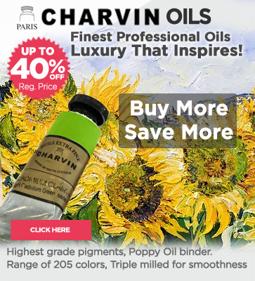 Charvin Professional Oil Paints 20-40% OFF