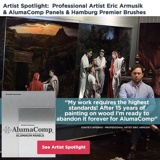 Artist Spotlight Eric Armusik - AlumaComp Panels
