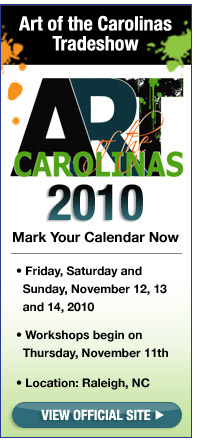 Art of the Carolinas 2010 Banner