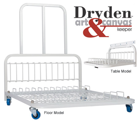 Dryden art and canvas keepers - storage solutions for artists