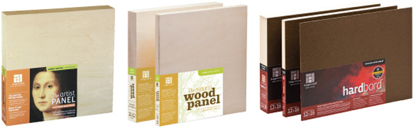 Ampersand's collection of unprimed wood panels, the Natural Wood Panel™,  Unprimed Basswood™ and Hardbord™ are excellent substrates for all types of  oil ... - How To Prime Ampersand Wood Panels - JerrysArtarama.com