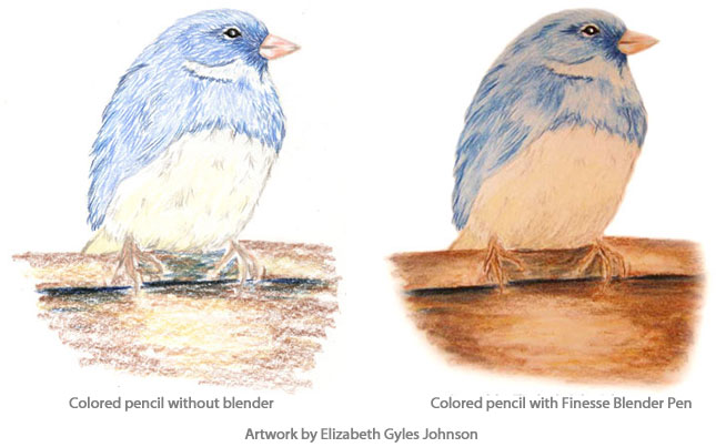 Finesse Colored Pencil Blender Pens Review Jerrysartaramacom