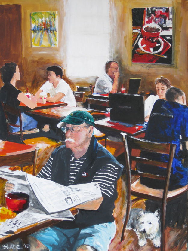 Putting Yourself Out There Coffee Shops And Art