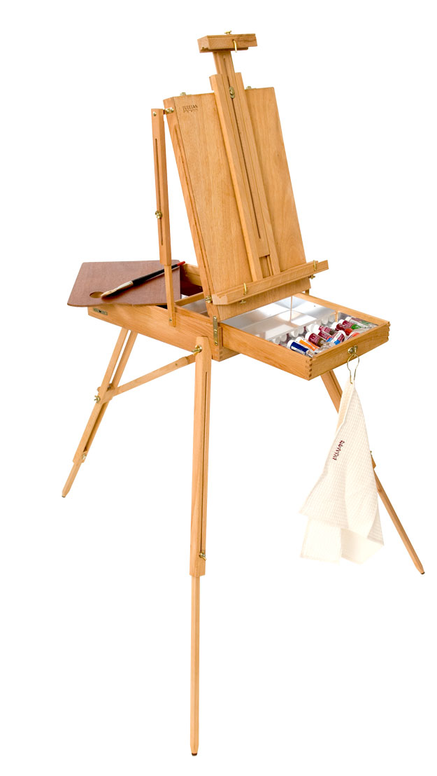 take your art outdoors for fall with the jullian easel