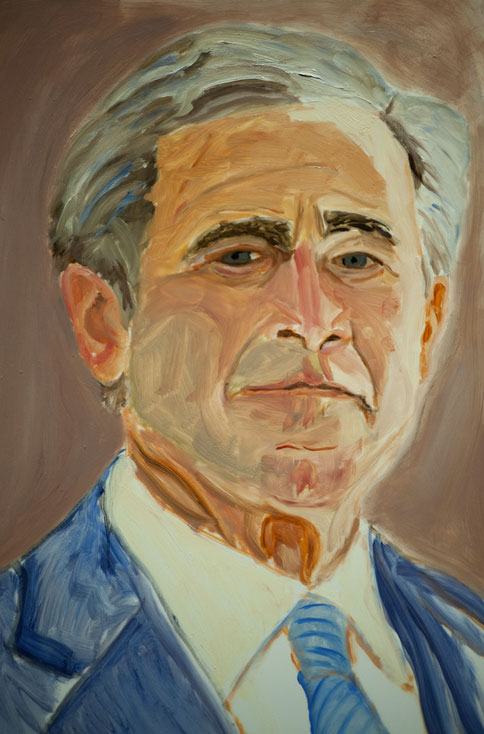 Presidential painters how well do you know them for George bush painting