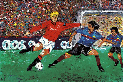 Sports Paintings Artists