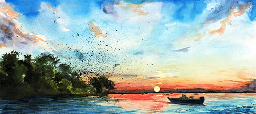 10 Easy Watercolor Painting Ideas For Spring Jerrysartarama Com