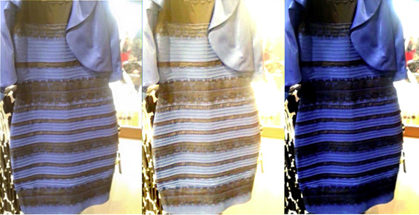 Dress dark blue black or white gold