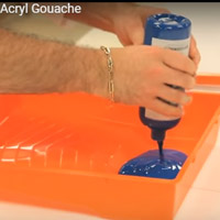 Prove it-Can one 500ml bottle of Acryl Gouache Soft Formula cover 76 sq feet of canvas?