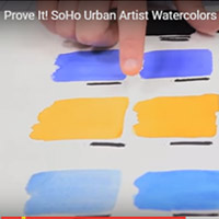 Prove It! Do SoHo Watercolors Pack More Pigment Than Other Leading Brands?