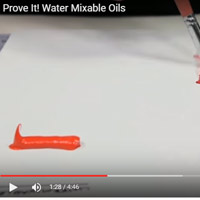 Prove It! Can you really get the same effects with water-mixable oil paints?