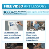 Free Video Art Lessons Break 1000 Mark