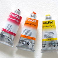 Lukas Watercolor Paints