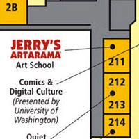 Jerry's Artarama at the Emerald City Comicon in Seattle