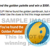 2nd Golden Palette Found!