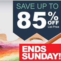 Fall Back to Art Class Sale Ends Sunday