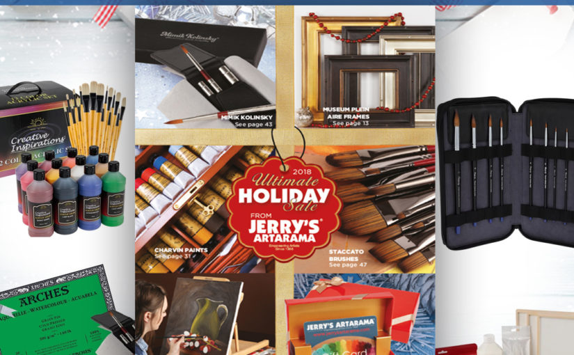 The Savings Continue During Cyber Monday Art Supply Sale