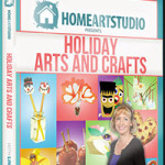 Home Art Studio Is Full of Fall Fun