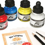 Discover Daler-Rowney Brushes, Inks, and Georgian Oils