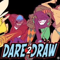 Jerry's Artarama sponsors Dare2Draw TV at NYCC 2015