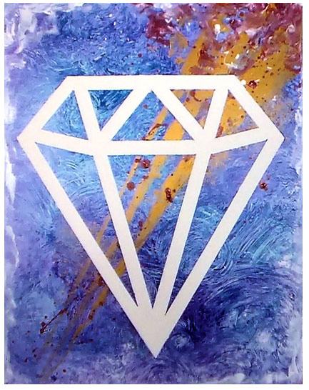 Pop Art DIY Acrylic Painting on Da Vinci Panels