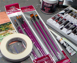 Pop Art Painting Supplies