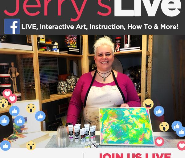 Jerry's LIVE – A New innovative Step to Promote Fine Art Instruction
