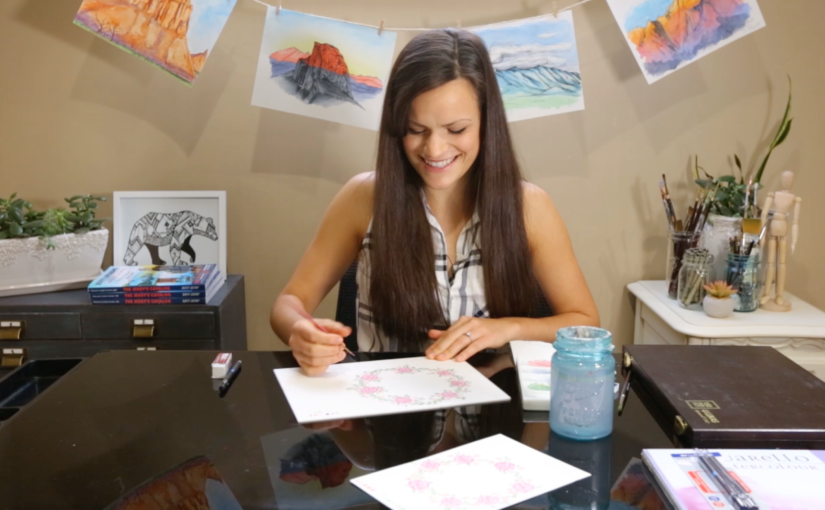 Creative Adventures Episode 1: Beginners Watercolor Tutorial