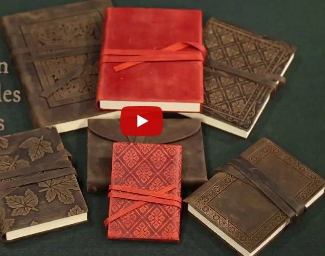 Styled After the Books Renaissance Masters Used – Luxury Leather Sketchbooks