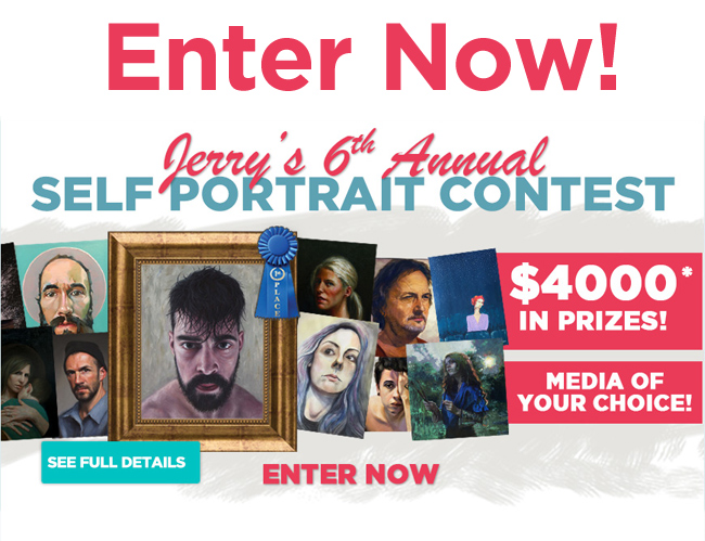 Jerry's 6th Annual 2018 Self Portrait Contest