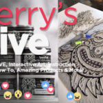 Jerry's Live - Episode #42: Block Printing with Guest Artist Bill Fick (featuring Speedball products)