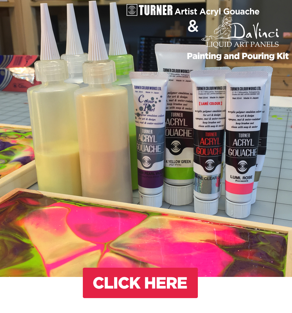 Painting and Pouring Kit