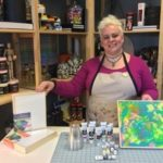 Painting And Pouring With Turner Acryl Gouache The Super Concentrated Vibrant Acryl Gouache