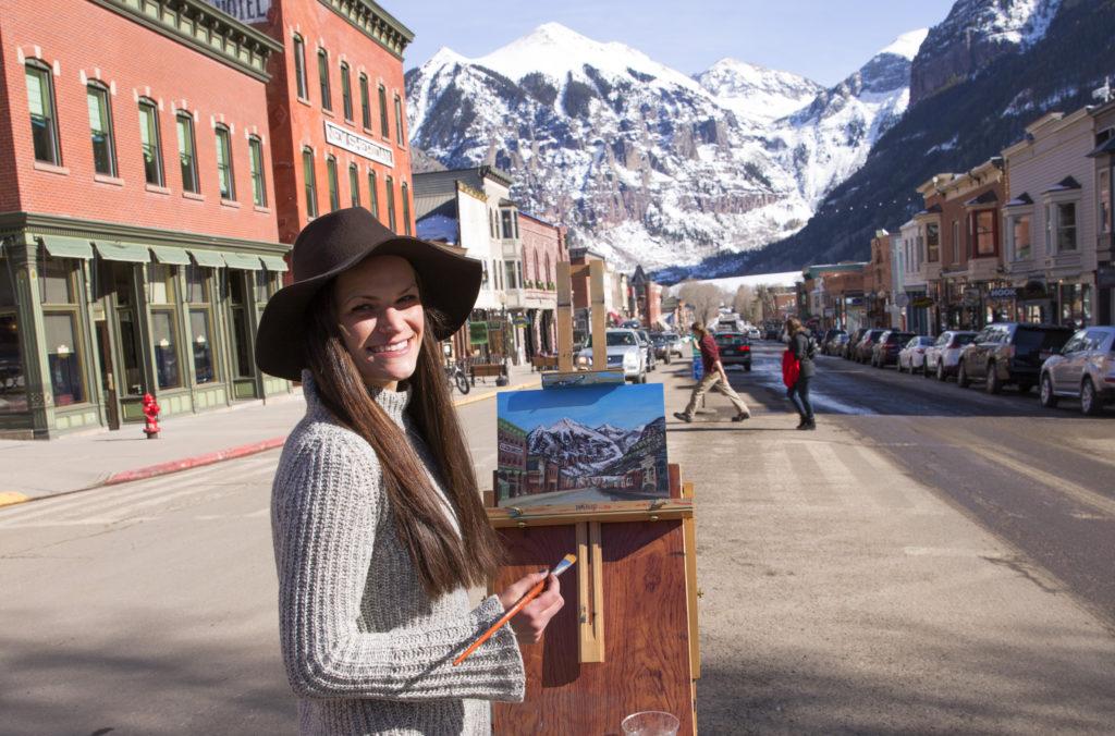 Plein Air Painting Coloarado with Lisa Marie