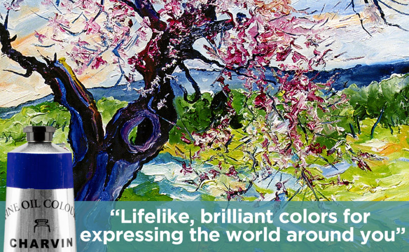 Lifelike Brilliant Oil Color Paint For Expressing the World Around You – Charvin Fine Oils
