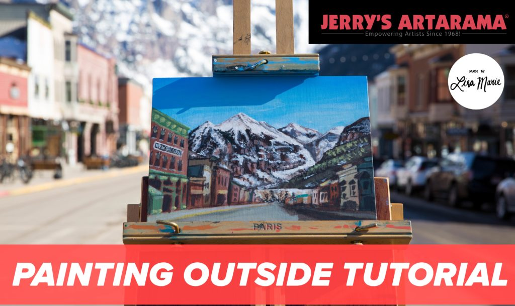 Plein Air Painting Coloarado with Lisa Marie