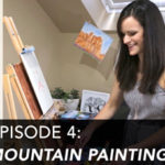 Creative Adventures Episode 4: Minimal Mountain Painting