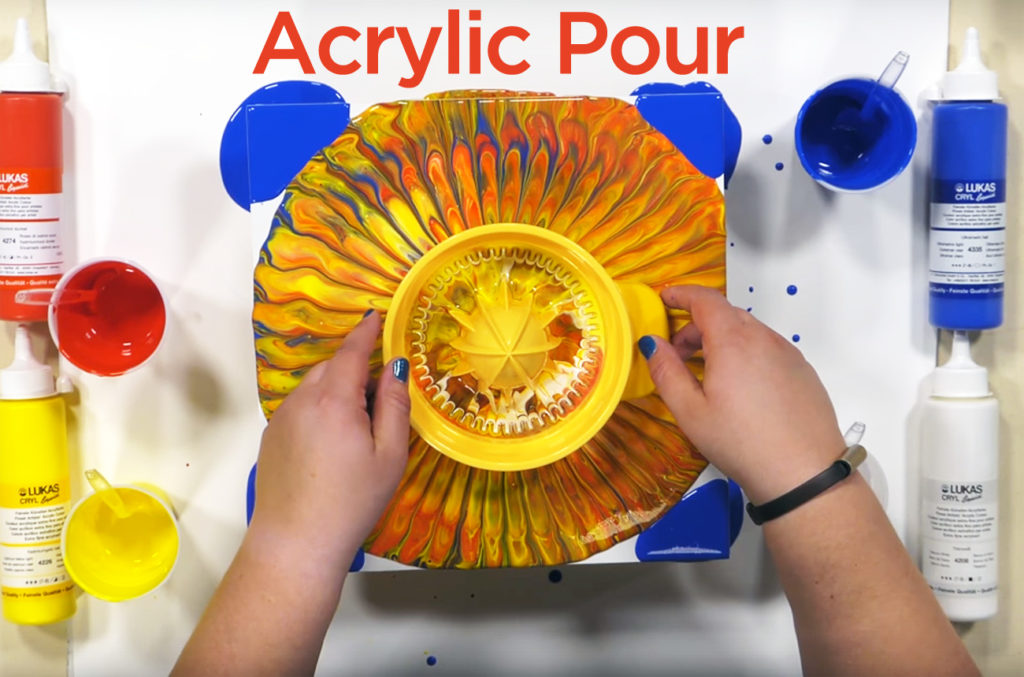 Acrylic Pouring Techniques, How To Acrylic Pour