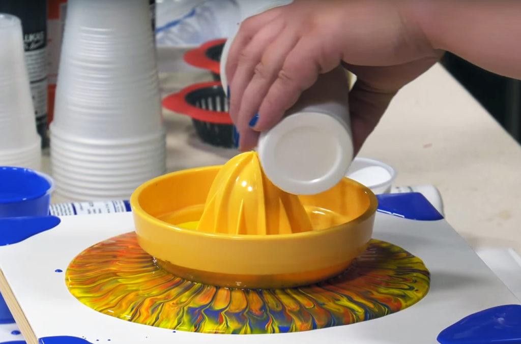 acrylic pour techniques acrylic pouring art