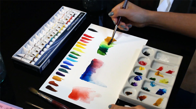 Mixing Turner Watercolors