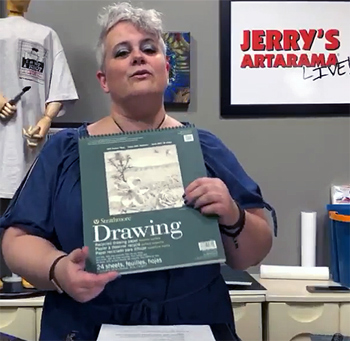 Overwhelming Sketchbook Options – Jerry's LIVE Episode 71