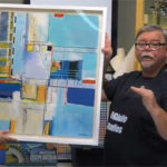 Jerry's LIVE Episode 75: Exploring Geometric Abstraction With Acrylics – Special Guest Artist Joe DiGiulio
