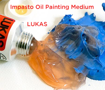 Thicken Your Oil Paints with Impasto Medium for Oil Paints – LUKAS Painting Butter