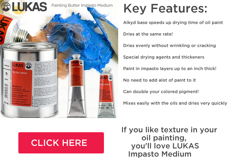 lukas impasto oil medium lukas butter
