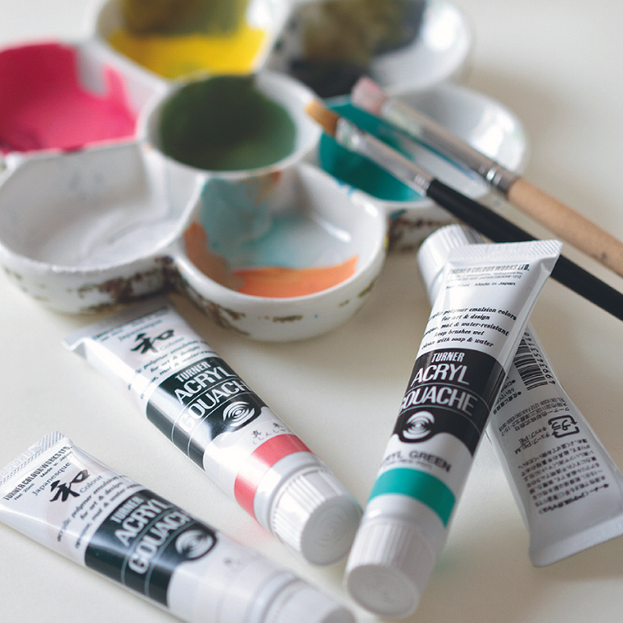 Turner Acryl Gouache PAints