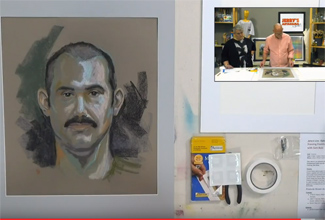How To Framing Pastel and Charcoal Artwork – Jerry's LIVE Episode #79