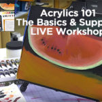 Acrylics 101 for Beginners with Basic Supplies – Jerry's Live Episode #89