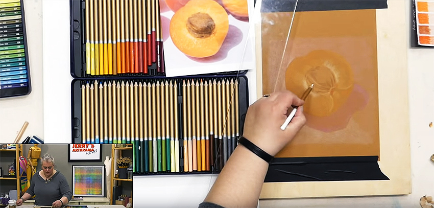Beginning-How-To-Use-Colored-Pencil-Skills-Basic-Supplies-LIVE93-2