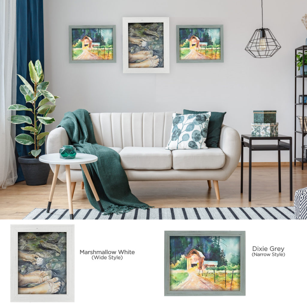 Home Decor Style Wood Frames -Country Chic